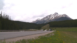 HD2008-6-6-15 TCH summer traffic mtns Stock Video Footage