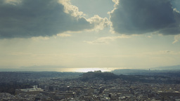 Acropolis Parthenon Panorama Athens Overview Day T stock footage