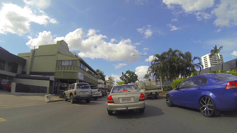 40 second drive through cairns Footage