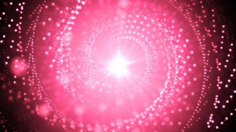 Pink Abstract Glitters Animation