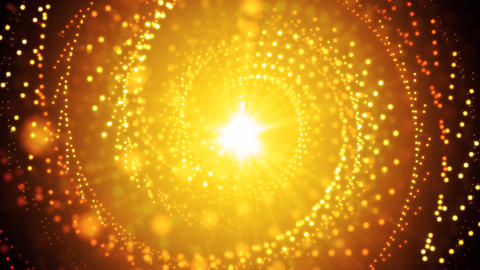 Golden Abstract Glitters stock footage
