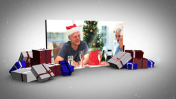 Big screen christmas animation Animation