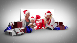 Big screen christmas and familys animation Animation