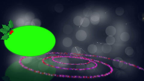 Spiral and green screen animation Stock Video Footage