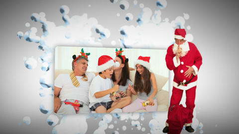 Christmas animation Stock Video Footage