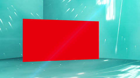 Montage of red copy space screens Animation