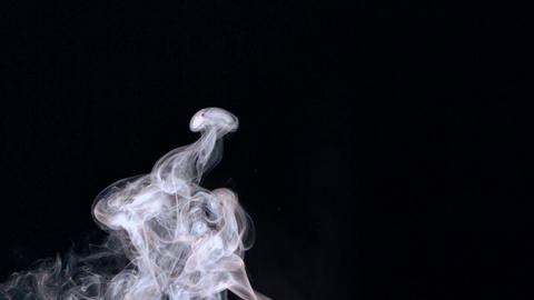 Rising white smoke Stock Video Footage