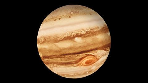 Jupiter stock footage