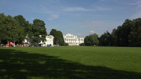 Elagin Palace in St. Petersburg. 4K Footage