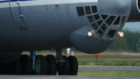 4K UHD Stock footage Military Cargo Taxiing Footage