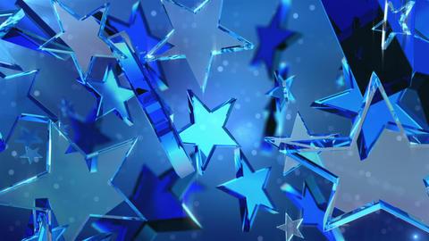 Loopable crystal stars Animation