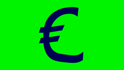 FLOATING EURO SIGN Animation