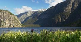 4K, Lake Eidfjordvatnet, Norway Footage