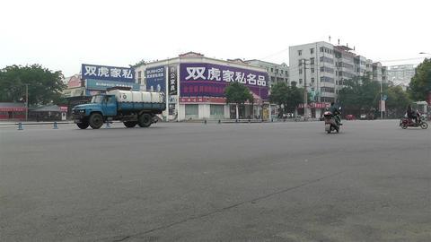 Jintang Town Chengdu Area Sichuan China 62 street Footage