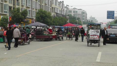 Jintang Town Chengdu Area Sichuan China 67 handhel Footage