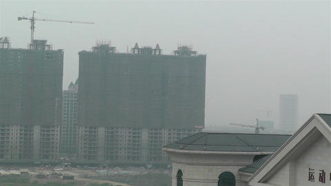 Construction Work Sichuan China 1 Footage
