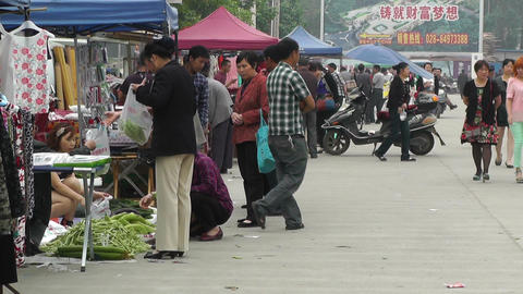 Jintang Town Chengdu Area Sichuan China 64 handhel Footage