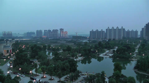 Jintang Town Chengdu Area Sichuan China 3 getting  Footage