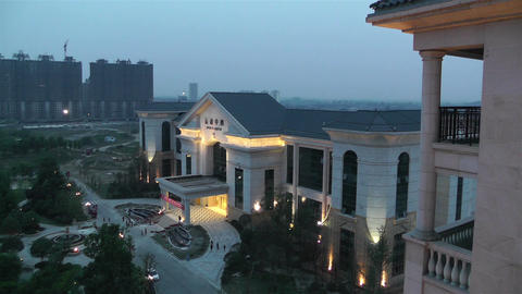 Jintang Town Chengdu Area Sichuan China 2 getting  Footage