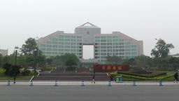 Jintang Town Chengdu Area Sichuan China 6 street h Footage