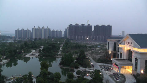 Jintang Town Chengdu Area Sichuan China 1 getting  Footage