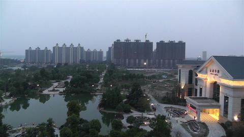 Jintang Town Chengdu Area Sichuan China 1 getting Stock Video Footage