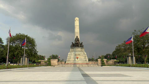 jose rizal monument Footage