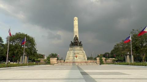 jose rizal monument Footage