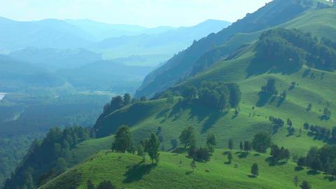 Mountain panorama Footage