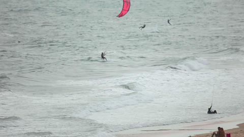 Kitesurfers Footage
