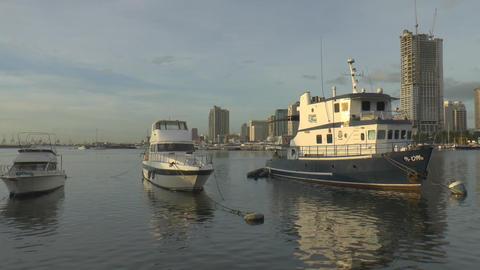 manila bay scene Footage