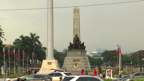 rizal park front Footage