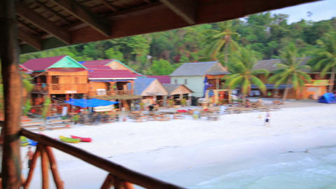 exotic koh rong island, cambodia Footage