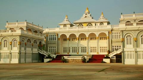 Vientiane Laos, Presidential Building Stock Video Footage