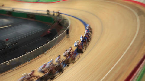 velodrome pursuit race Footage