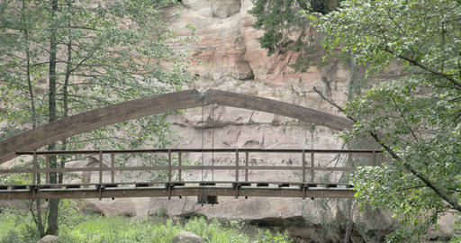 The hanging bridge from the hidden beauty of the f Footage