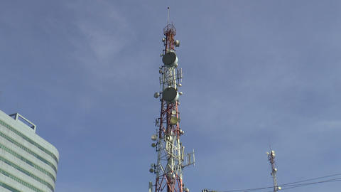 communication tower Footage