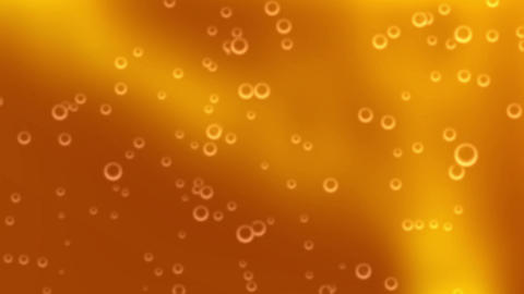 Beer Bubbles Motion Background, Loopable Animation