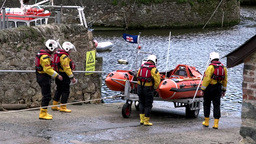 Rescue Lifeboat 1 Stock Video Footage