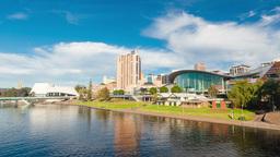 Hyperlapse video of Adelaide city, Australia Stock Video Footage