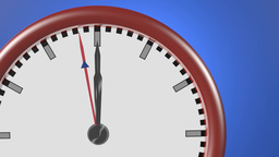 Clock Ticking stock footage