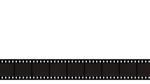 Film Reel Lower Third stock footage