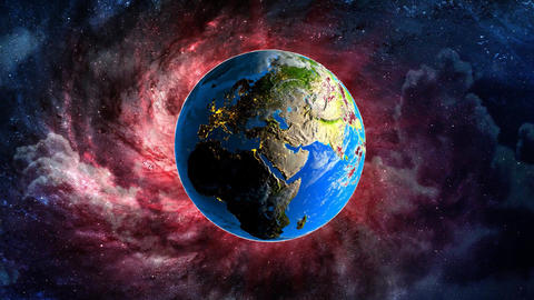 Save The Earth Animation Video stock footage