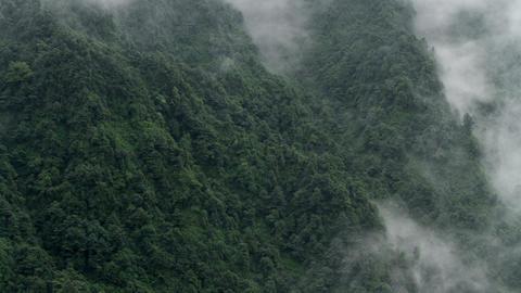 Timelapse view in Mount Emei HD Stock Video Footage