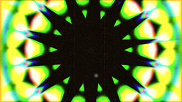 Psychedlic Transition Kaleidoscope 2 stock footage