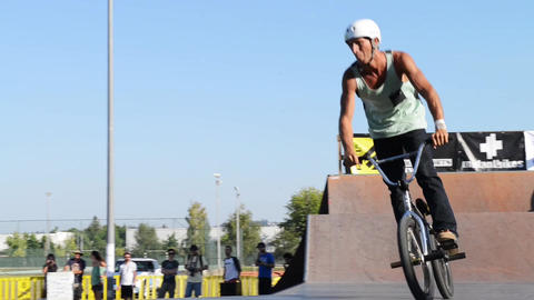 Helder Oliveira during the DVS BMX Series 2014 by  Footage