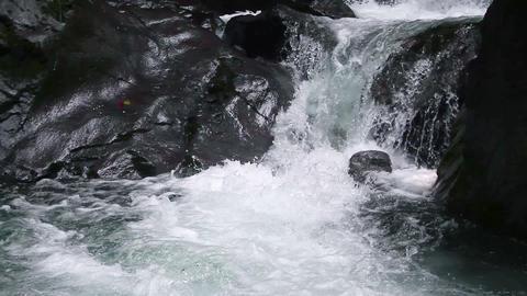 Steam in Mount E'mei HD Stock Video Footage