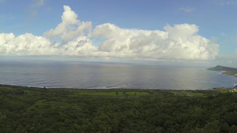 aerial - guanshan post sunrise Footage
