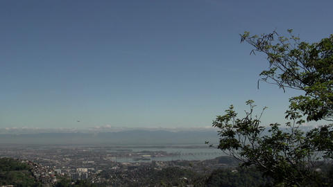 086 Rio , overview from the Sugarleaf Mountain , a Footage
