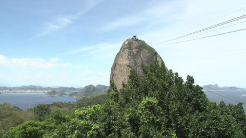 095 Rio , Sugarleaf Mountain , cableway Stock Video Footage